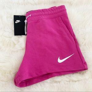 🌸 NIKE Women Running Shorts Pants NWT Pink XS